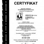 Certyfikat 12 100 40079